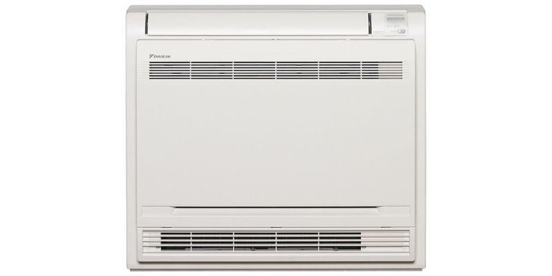 Daikin multi-head split system floor mounted air conditioner.