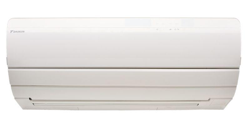 Daikin multi-head split system wall mounted air conditioner.
